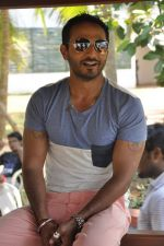 Nikhil Chinnapa on the sets of MTV Splitsvilla in Kerala on 6th May 2013 (40).JPG