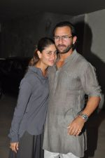 Saif Ali Khan, Kareena Kapoor at go goa gone screening in Lightbox, Mumbai on 9th May 2013 (12).JPG
