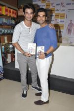 Sushant Singh Rajput, Raj Kumar Yadav at Kai po che DVD launch in Infinity Mall, Mumbai on 10th May 2013 (79).JPG
