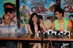 Adah Sharma and Dev Goel at the press conference of Hum Hai Raahi Car Ke in Suburban Lounge, Mumbai on 11th May 2013 (11).jpg
