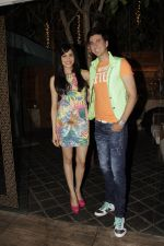 Adah Sharma and Dev Goel at the press conference of Hum Hai Raahi Car Ke in Suburban Lounge, Mumbai on 11th May 2013 (2).jpg