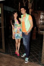 Adah Sharma and Dev Goel at the press conference of Hum Hai Raahi Car Ke in Suburban Lounge, Mumbai on 11th May 2013 (6).jpg