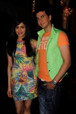 Adah Sharma and Dev Goel at the press conference of Hum Hai Raahi Car Ke in Suburban Lounge, Mumbai on 11th May 2013 (7).jpg