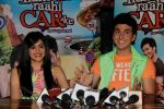 Adah Sharma and Dev Goel at the press conference of Hum Hai Raahi Car Ke in Suburban Lounge, Mumbai on 11th May 2013 (8).jpg