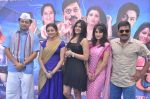 Sanjay Narvekar, Smita Gondkar and Nisha Parulekar at the Mahurat of Marathi movie Full to Dhamaal in Madh, Mumbai on 13th May 2013 (95).JPG