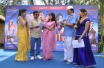 Sanjay Narvekar, Smita Gondkar and Nisha Parulekar at the Mahurat of Marathi movie Full to Dhamaal in Madh, Mumbai on 13th May 2013 (91).JPG