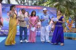 Sanjay Narvekar, Smita Gondkar and Nisha Parulekar at the Mahurat of Marathi movie Full to Dhamaal in Madh, Mumbai on 13th May 2013 (93).JPG