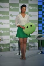 Parineeti Chopra launch WeChat in India in Taj Colaba, Mumbai on 14th May 2013 (69).JPG