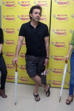 Bobby Deol at Radio Mirchi studio for the promotion of Yamla Pagla Deewana 2 in Lower Parel, Mumbai on 16th May 2013.JPG