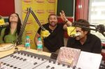 Kristina Akheeva and Sunny Deol at Radio Mirchi studio for the promotion of Yamla Pagla Deewana 2 in Lower Parel, Mumbai on 16th May 2013 (3).JPG
