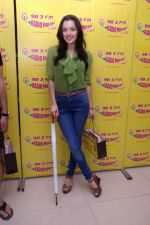 Kristina Akheeva at Radio Mirchi studio for the promotion of Yamla Pagla Deewana 2 in Lower Parel, Mumbai on 16th May 2013.JPG