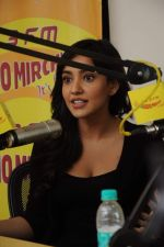 Neha Sharma at Radio Mirchi studio for the promotion of Yamla Pagla Deewana 2 in Lower Parel, Mumbai on 16th May 2013 (2).JPG