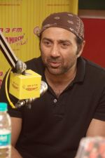 Sunny Deol at Radio Mirchi studio for the promotion of Yamla Pagla Deewana 2 in Lower Parel, Mumbai on 16th May 2013.JPG