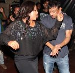 shabina khan and ramgopal varma at Shabina Khan bday bash in Kino, Andheri, Mumbai on 16th May 2013 (1).jpg