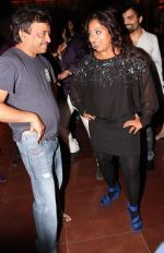 shabina khan and ramgopal varma at Shabina Khan bday bash in Kino, Andheri, Mumbai on 16th May 2013.jpg