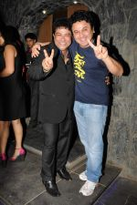 Ashiesh Roy  with Ali Asgar at Ashiesh Roy_s Birthday Party in Mumbai on 18th May 2013.JPG