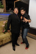 Ashiesh Roy with Sharman at Ashiesh Roy_s Birthday Party in Mumbai on 18th May 2013.JPG