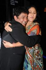 Jayati Bhatia with Ashiesh Roy at Ashiesh Roy_s Birthday Party in Mumbai on 18th May 2013.JPG