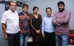Dhananjay Kumar Yadav (Producer), Aadesh Srivastav,Shreya Ghosal, B.N.Ojha (Director) and Vijay Pandey   at the song recording for the film Janta vs Janardan - Aam Aadmi .JPG