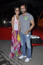 Kareena Kapoor, Saif Ali Khan at Kunal Khemu_s Birthday bash in Khar, Mumbai on 24th May 2013 (34).JPG