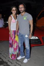 Kareena Kapoor, Saif Ali Khan at Kunal Khemu_s Birthday bash in Khar, Mumbai on 24th May 2013 (36).JPG