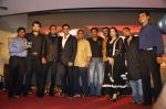 Sunil Shetty, Akshay Kumar, Mimoh Chakraborty, Mithun Chakraborty, Johnny Lever, Yuvika Chaudhary at Enemmy launch in Mumbai on 24th May 2013 (66).JPG