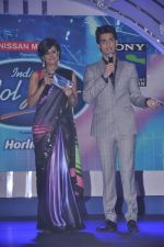 Mandira Bedi, Karan Wahi at Junior Indian idol press meet in Grand Hyatt, Mumbai on 28th May 2013 (6).JPG