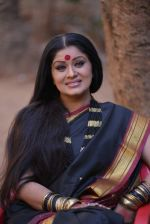 Sudha Chandran on the sets of film Babuji Ek Ticket Bambai in Yari Road, Mumbai on 28th May 2013 (30).JPG