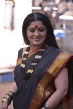 Sudha Chandran on the sets of film Babuji Ek Ticket Bambai in Yari Road, Mumbai on 28th May 2013 (53).JPG