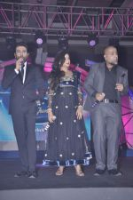 Vishal Dadlani, Shekhar Ravjiani, Shreya Ghoshal at Junior Indian idol press meet in Grand Hyatt, Mumbai on 28th May 2013 (61).JPG