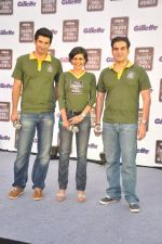 Aditya Roy Kapur, Mandira Bedi, Arbaaz Khan at Gilette Soldiers For Women event in Mumbai on 29th May 2013 (25).JPG