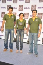 Aditya Roy Kapur, Mandira Bedi, Arbaaz Khan at Gilette Soldiers For Women event in Mumbai on 29th May 2013 (24).JPG
