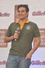 Arbaaz Khan at Gilette Soldiers For Women event in Mumbai on 29th May 2013 (11).JPG
