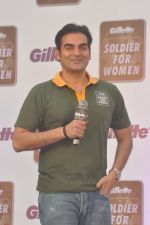 Arbaaz Khan at Gilette Soldiers For Women event in Mumbai on 29th May 2013 (13).JPG