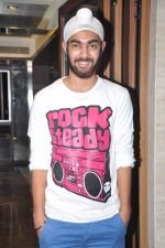 Manjot Singh at Fukrey film bash in Grant Road, Mumbai on 31st May 2013 (24).JPG
