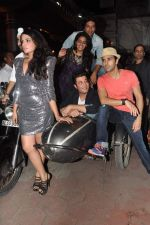 Varun Sharma, Pulkit Samrat, Ali Fazal, Manjot Singh, Richa Chadda at Fukrey film bash in Grant Road, Mumbai on 31st May 2013 (50).JPG