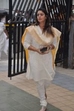 Nagma at Jiah Khan_s prayer meet in Juhu, Mumbai on 8th June 2013 (31).JPG