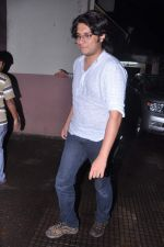 Junaid watch Grand Masti film in Mumbai on 9th June 2013 (6).JPG