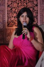 Ekta Kapoor at the launch of Ekta Kapoor_s Jodha Akbar in J W Marriott, Mumbai on 10th June 2013 (35).JPG