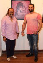 Lesle Lewis and Mudasir Ali at Rutuja Padwal_s art show opening.jpg