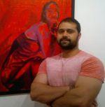 Mudasir Ali at Rutuja Padwal_s art show opening.jpg