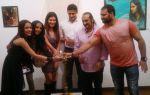 Rutuja Padwal, Suchitra Pillai, Payal Rohatgi, Sangram Singh, Lesle Lewis & Mudasir Ali at Rutuja_s art show opwning 2.jpg