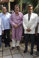 Raza Murad on the sets of Ishq Ha Manjan in madh, Mumbai on 11th June 2013 (2).JPG