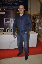 Ashvin Gidwani at the launch of Mahesh Dattan_s black comedy Big Fat City in Crossword, Mumbai on 14th June 2013 (32).JPG