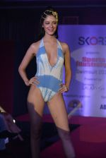 Model walks for Sports Illustrated bikini issue launch in Sea Princess, Mumbai on 14th June 2013 (175).JPG