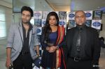 Shekhar Ravjiani, Shreya Ghoshal, Vishal Dadlani promote bhaag Mikha Bhaag on Indian Idol Junior in Mumbai on 22nd June 2013 (2).JPG