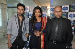 Shekhar Ravjiani, Shreya Ghoshal, Vishal Dadlani promote bhaag Mikha Bhaag on Indian Idol Junior in Mumbai on 22nd June 2013 (5).JPG