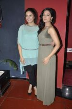 Richa Chadda, Huma Qureshi at the unveiling of the film Shorts in Cinemax, Mumbai on 24th June 2013 (54).JPG