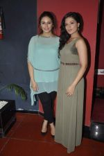 Richa Chadda, Huma Qureshi at the unveiling of the film Shorts in Cinemax, Mumbai on 24th June 2013 (57).JPG
