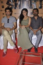 Richa Chadda,Vineet Kumar Singh, Nawazuddin Siddiqui at the unveiling of the film Shorts in Cinemax, Mumbai on 24th June 2013 (6).JPG